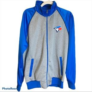 Toronto Blue Jays Front Zip Team Sweater Jacket